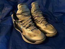 Nike Men's Zoom Hyperfuse Basketball Shoes/Sneakers Size US 12 Silver and Black
