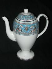 Wedgwood Turquoise Florentine Large Coffee Pot 1.75 pints (UK)