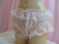 sissy sheer delicate pink chiffon panties mens lingerie knickers all sizes