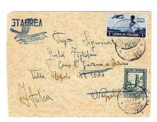 Somalia ITALIAN-C11,#144a(perf 14)-DIRE DAUA ETHIOPIA 15/11/36-AIR MAIL