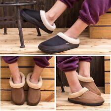Plus Size Plush Cotton Slippers Men Shoes Bathroom Indoor Winter Fur Home Shoes
