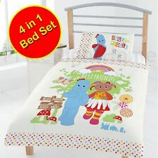 IN THE NIGHT GARDEN BEST FRIENDS JUNIOR TODDLER 4 IN 1 BEDDING BUNDLE SET KIDS