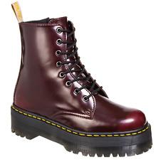 Dr Martens Jadon II Vegan, Mens Cherry Red boots, Size UK 10, BRAND NEW!