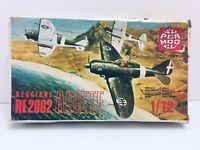 Super Model 1:72 Reggiane RE 2002 Ariete Kit #10-004U Factory Sealed Parts