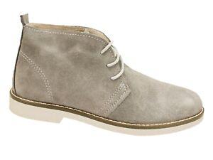 Scarpe polacchine uomo invernali Beige casual eleganti calzature made in Italy