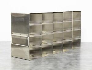 Laboratory Upright Freezer Rack Holds 20 Microplates with 90-day Warranty