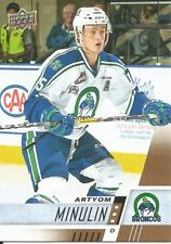 Artyom Minulin #145 - 2017-18 CHL - Base - Swift Current Broncos