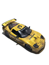 Action 1:18 Raced Version 2001 Corvette C5R #3 Earnhardt Jr Sr Yellow Car