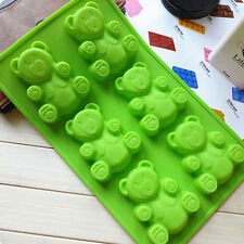 Silicone Bear Style Cake Chocolate Baking Ice Cube Soap Jelly Baking Mould Tool