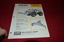 Michigan 75A 75B 75R 125A 175A Tractor Loader Crane Hook Dealer Brochure AMIL12