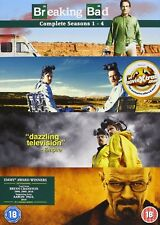 Breaking Bad Season 1-4 Box Set (DVD) *NEW & SEALED*