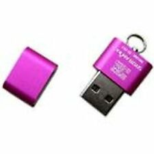 KEY CHAIN 2GB SD Card mounted in a USB2 DRIVE ADAPTER - TAKE FILES WITH YOU