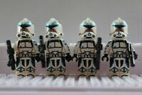 Star Wars 501st Legion Commandos Storm Clone Troopers Mini Figures use with lego
