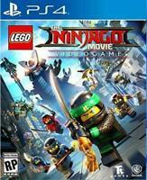 LEGO Ninjago Movie Videogame PS4 Playstation 4 Brand New Sealed