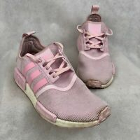 Adidas NMD R1 Girl's Youth Shoes Size 6.5 Pink Cloud White Boost G27687 Sneakers