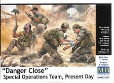 Master Box Modern Special Ops Team 'DANGER', Figures in 1/35 207 ST  B2
