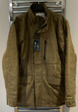 Joules Brinkworth Tech Tweed Mens Jacket Coat Waterproof XXL New Shooting