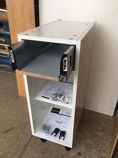 White Flat Pack 16mm Kitchen Unit 300mm Base Cabinet + 1x Soft Close Drawer