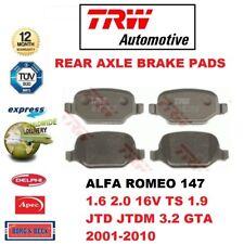 FOR ALFA ROMEO 147 1.6 2.0 16V TS 1.9 JTD JTDM 3.2 GTA 2001-2010 REAR BRAKE PADS