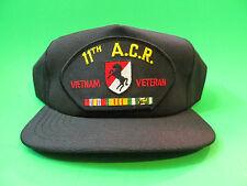 11th ACR Vietnam Veteran Snap Back Hat Cap. USA Made