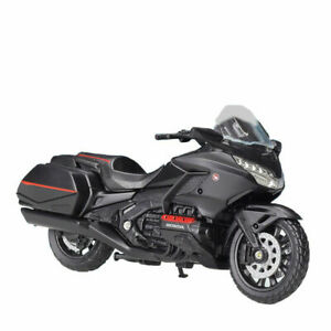 Welly 1:18 2020 Honda Gold Wing Motorcycle Bike Model Toy New In Box Black