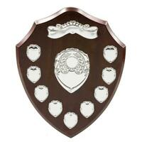 12 Inch Perpetual Annual Shield Award/Trophy - Custom Engraved