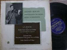 LEONID KOGAN - ELISABETH GILELS / BACH  / COLUMBIA 33CX 1373