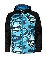 NORTH FACE NOV BOREAL WIND & WATER RESISTANT JACKET NEW MENS XL ZIP BLUE CAMO