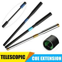 Aluminum Telescopic Snooker Billiard Pool Cue Extender Extension Sleeve  UK U