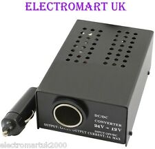 24V TO 12V VOLT DC VOLTAGE DROPPER CONVERTER TRANSFORMER 5A 5 AMP