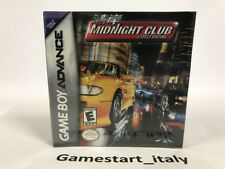 MIDNIGHT CLUB STREET RACING - NINTENDO GAME BOY ADVANCE GBA - NEW SEALED NTSC
