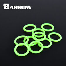 "Barrow G1/4"" O Rings UV Green - 10 Per Pack -125"