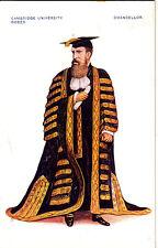 CO31. Vintage Postcard.Cambridge University Robes. Chancellor.