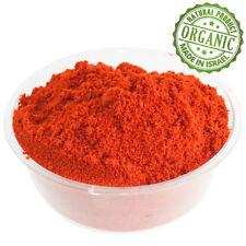 Bio Gewürze Pulver Boden Rot Chili Hot Pfeffer Pure Kosher Israel Gewürz