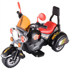 Kids Ride On 3 Wheel Harley Style Motorcycle 6V Battery Powered Electric Toy