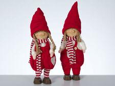 Weihnachtliche Figuren aus Stoff