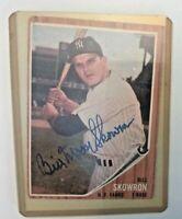 BILL SKOWRON New York Yankees TOPPS  #110 Baseball Card