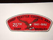 BOY SCOUT  CHIEF SEATTLE COUNCIL  SA 13              WA  X6