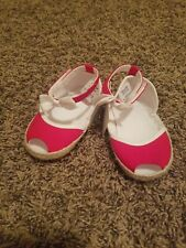 Janie and Jack Red Crib Shoes 12-18 Mo.