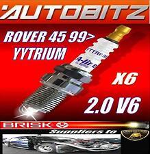 Se adapta a Rover 45 1999 > BRISK BUJÍA X6 YYTRIUM Envío rápido