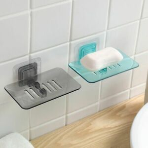 1pc Bathroom Shower Soap Box Dish Storage Plate Tray Holder Case Soap Holders