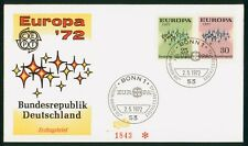 Mayfairstamps Germany FDC 1972 Europa Stars Combo First Day Cover wwp_85875