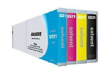 4 x Tinte für Mimaki JV33 JV150 CJV150 CJV300 - Mild Solvent Ink SS21 Cartridge