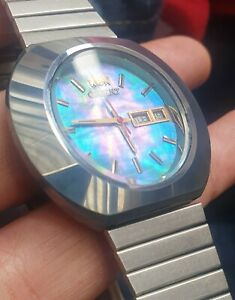 Vintage ceramic Orient automatic Chrono Ace cal 42970.orient chronoace watch