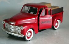 SPECCAST TRUE VALUE  RED 62 CHEVY PICKUP WITH LOAD 1/25 DIECAST