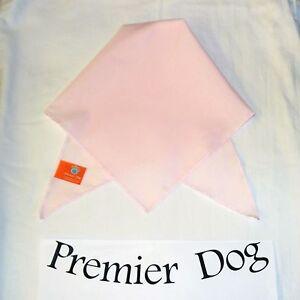 Plain Pink Dog Bandana / Scarf - 3 sizes to choose from!