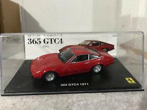 FERRARI 365 GTC4 1971 - SCALA 1/43