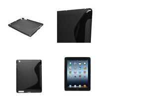 iPad TPU Gel Body Cover & Audio Jack Stylus Pen (SET)