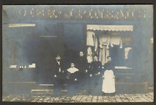 CARTE POSTALE PHOTO PINEAU MAGASIN VETEMENTS