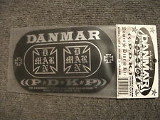 New DANMAR Double Bass Drum Head Impact Pad! Cool Metal Kick Pedal Pad! Durable!